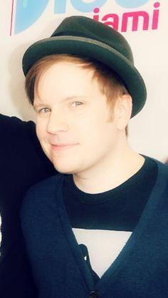 He looks like an angel in that light