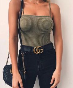 45 Trendy Summer Outfits To Buy Now Teen Fashion Outfits, Retro Outfits, Mode Outfits, Look Fashion, Trendy Fashion, Girl Outfits, 90s Fashion, Fashion Black, Fashion Clothes