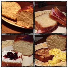 pan brioche senza impasto a lievitazione naturale versione 1 e 2