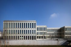 HEC School of Management in Jouy-en-Josas, Paris, France, by David Chipperfield Architects (2012), photographed by Yohan Zerdoun.
