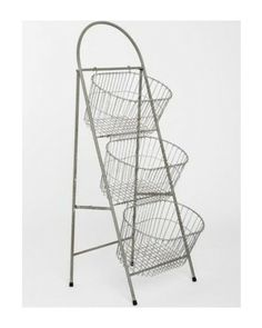 Urban Outfitters Ladder Storage Basket from Urban Outfitters | This would be adorable for soap display