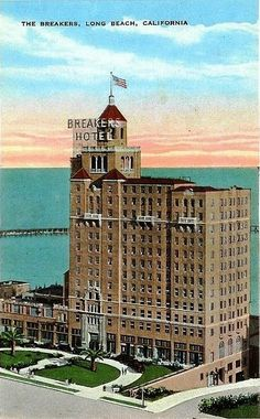 Vintage picture of The Breakers, Long Beach