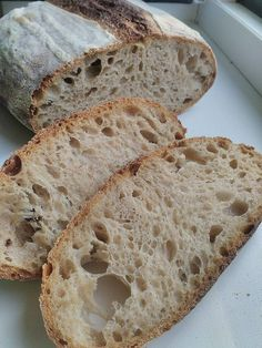 hydratace, fermentace v lednici – recept Detox, Food And Drink, Bread, Breads, Sandwich Loaf