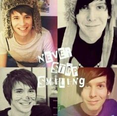 """""""NEVER STOP SMILING"""""""