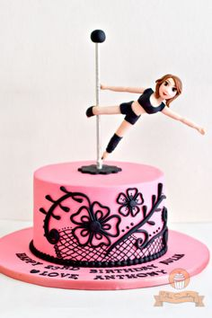 Pole Dancer cake The Sweetery - by Diana