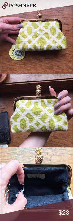 Spartina Coinpurse Gold plated. Amazing quality as Spartina always is. Spartina 449 Bags Clutches & Wristlets