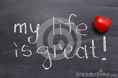My life is great stock image. Image of phrase, personal - 33660641 Vectors, My Life, Sign, Stock Photos, Free, Image, Signs, Board