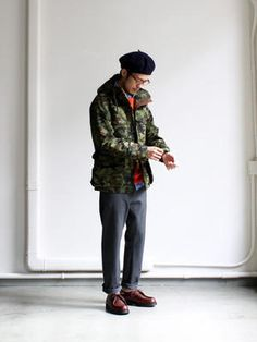 nanamica GORE-TEX Camouflage Cruiser Jacket