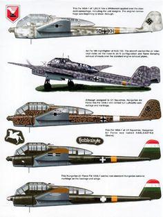 Recce Focke-Wulf Fw 189 Uhu