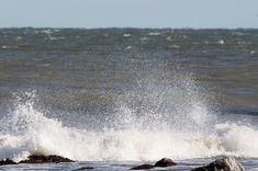 Waves Pounding The Montauk SurfArtwork  by John Telfer