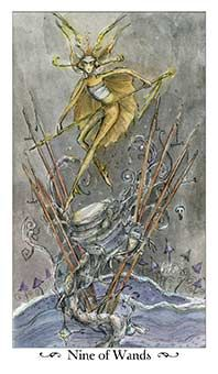 December 30 Tarot Card: Nine of Wands (Paulina deck)Just when you thought you were in the clear, another challenge may arise today. Do NOT give up now. You're so close ~ keep powering through