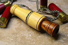 Custom Made Osage Orange and Cocobola Duck Call by Spaeny Wood Studios Duck Hunting, Hunting Gear, Deer Calls, Ducks Unlimited, Duck Boat, Duck Decoys, Lathe Projects, Game Calls, Woodworking Workshop