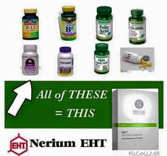 Take all your #vitamins, combine them together, and you have #EHT. #supplements   www.kebbert.nerium.com
