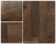 BuildDirect®: Engineered Hardwood Floors Harbors Collection   Distressed Engineered Wood Flooring   Maple   Tobacco