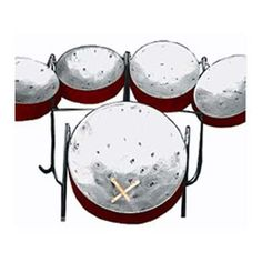 Steel Drums - also known as Pans. They are used in Caribbean and Calypso music. Trinidad, Calypso Music, Drum Band, Real Steel, Steel Drum, Croydon, Music Class, Music Love, Percussion