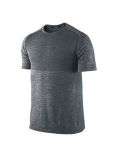The Nike Dri-FIT Knit Short-Sleeve Men's Running Shirt.