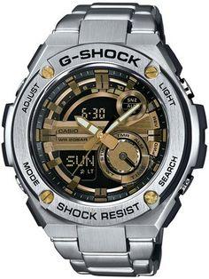 8905e4460d9 Casio G-Shock G-Steel Analog Digital World Time GST-210D-9A