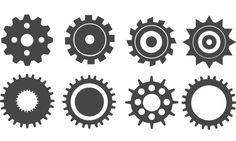 Создание шестерёнок в Adobe Illustrator. Простой урок по созданию шестерёнок, да и вообще любых объектов с элементами, врощающимися вокруг какого-то центра.