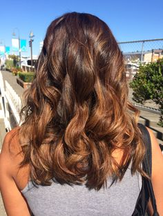 Ombré hair color by Sherri at Salon Voda - Seattle, WA. make an appointment now for this look or many others similiare with Ombre, Blayage or Bombre. See Sherri @ Salon Voda 206-550-8605