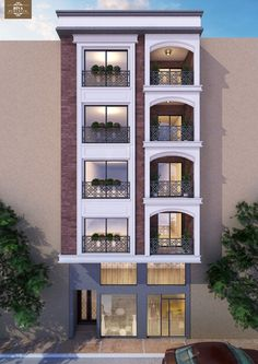 Modren Apartment Building Ideas Inside Decorating
