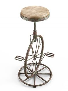 Lovely Short Stools with Wheels