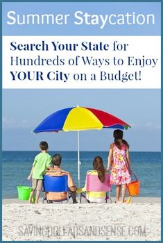 Summer Staycation Ideas!  Search YOUR state for things to do in your area.