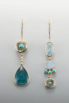 Image result for earring opal