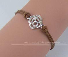 Diamond bracelet rose charm bracelet 32 kinds of by NewGifts, $1.99