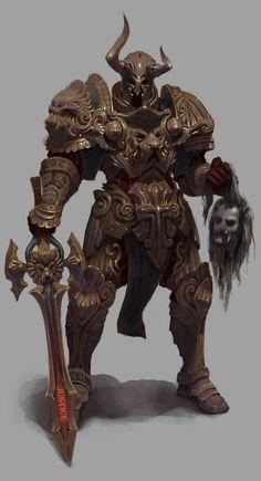 warrior  Terrifying, I love it. -Z