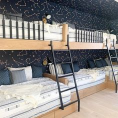 Star light ⭐  Star bright ⭐ Wishing for a room as amazing as this to sleep at night!  📷: @kasimillerdesigns #beddys #zipperbedding #zipyourbed #girlbedding #girlbed #beddysbeds #girlyroom #girlsroomdecor #girlsroom #girlsroominspo #girlsroominspiration #girlsroomdecoration #girlsroomstyling #girlystuff #bedding #beddings #homedecor #homedesign #bedroomgoals #bedroomideas #boysroom Girls Bedroom, Bedroom Decor, Bedroom Ideas, Beddys Bedding, Zipper Bedding, Shared Bedrooms, Make Your Bed, Bunk Beds, Toddler Bed