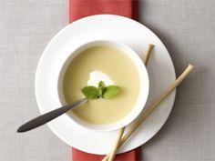 Courgettesoep met Griekse yoghurt