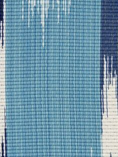 Robert Allen Sunbrella Ibi Ikat Blue Lagoon Fabric By The Yard Use Upholstery Indoors Or Outdoors