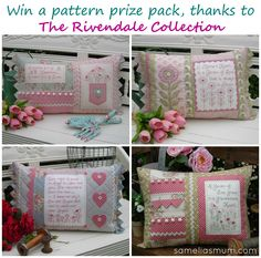 The Rivendale Collection pattern pack GIVEAWAY at sameliasmum.com   #SameliasMum #TheRivendaleCollection #Giveaway