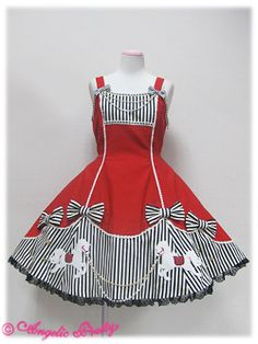 Carnival Applique JSK by Angelic Pretty Frocks For Girls, Kids Outfits Girls, Little Girl Dresses, Girl Outfits, Baby Frocks Designs, Kids Frocks Design, Kids Dress Wear, Baby Dress, Girls Frock Design