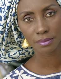 Senegalese artist and fashion designer and 1998 Prince Claus laureate Oumou Sy.