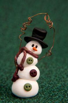 clay snowman by rachel..54