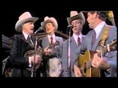 """The Old Crossroad"" - Bill Monroe & The Blue Grass Boys (+playlist)"