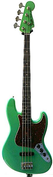 Fender Custom Shop Master Build Series 1960 Jazz Bass N.O.S. Surf Green built by Jason Davis