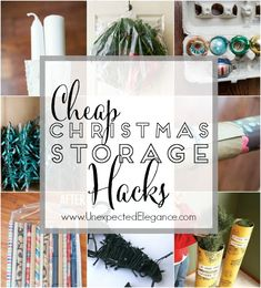 After the expense of Christmas, who wants to spend more money on the storage of all the decorations? It's so much easier if you take the time to store everything nice and neat but you don't have to spend a fortune. There are many items in your house that can be repurposed and other items …
