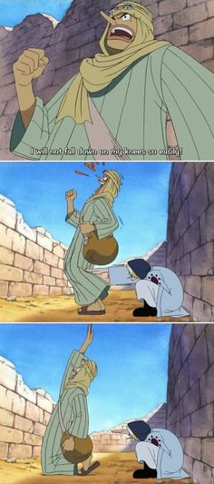 | Usopp and Sanji | Sanji, this is why you have no friends.