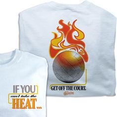 Tandem If You Can't Take the Heat Tee at Volleyball.Com