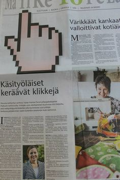 Turun Sanomat 5.9.2013 Jutussa mukana Raparperimaa