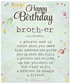 Have A Terrific Day Happy Birthday Card For Brother Celebrate Your