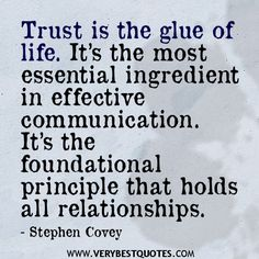 Quotes About Relationship Trust