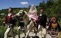Albanian traditional wedding