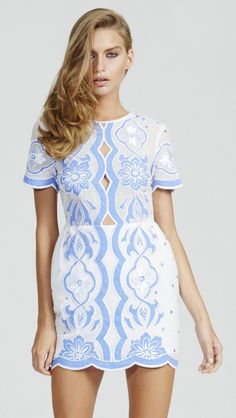 23c6561f44a alice McCALL All About You Dress Blue And White Dress