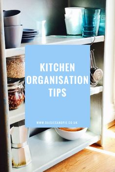 How to create kitchen zones for easy organisation. Homekeeping tips.