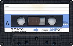 Compact Cassette or Musicassette (MC), also commonly called cassette tape, audio cassette, or simply tape or cassette