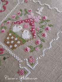 Hart to Hart: Epiphany . or spring coming? 123 Cross Stitch, Cross Stitch Sampler Patterns, Cross Stitch Bird, Cross Stitch Samplers, Modern Cross Stitch, Cross Stitch Flowers, Cross Stitch Charts, Cross Stitch Designs, Cross Stitching