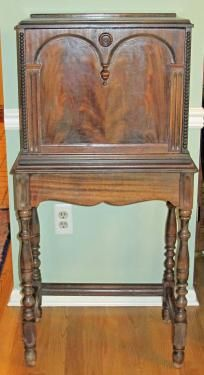 Antique Telephone Cabinet, Beautifully Designed And Executed By Highly  Regarded Imperial Furniture Of Grand Rapids